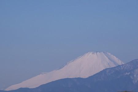 2018.01.31 駅前 富士山
