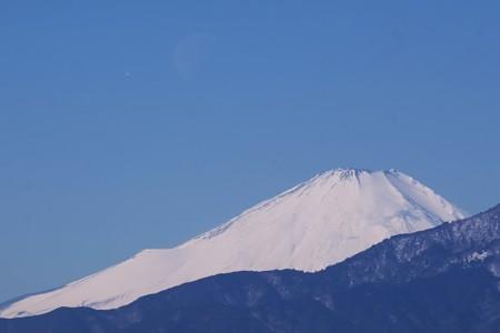 2018.02.06 駅前 富士山