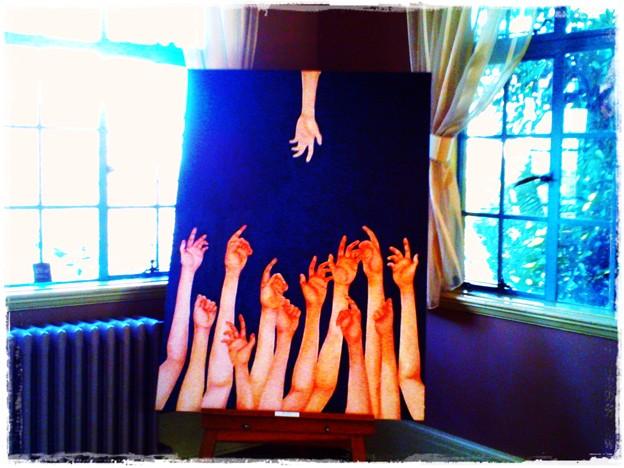 2018.02.13 ベーリック・ホール ユースギャラリー フェリス女学院 サンルームの絵