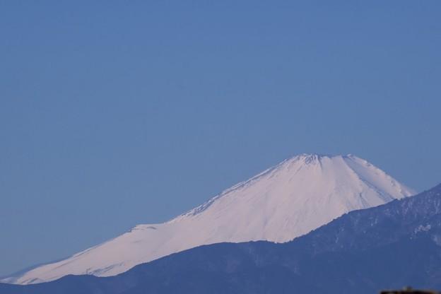 2018.02.14 駅前 富士山