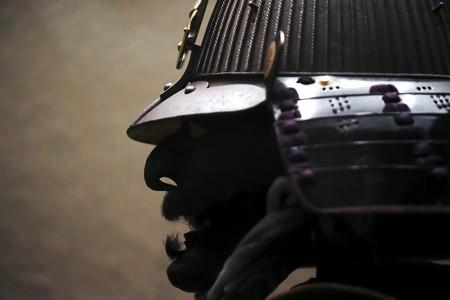 2018.03.16 東京博物館 黒糸威二枚胴具足 桃山時代 F-20138