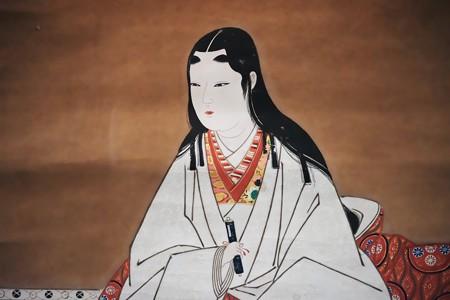 2018.03.16 東京博物館 浅井長政夫人像(模写 部分) 森田亀太郎 A-9705