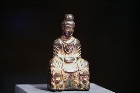 2018.03.16 東京博物館 如来坐像 中国 TC-805