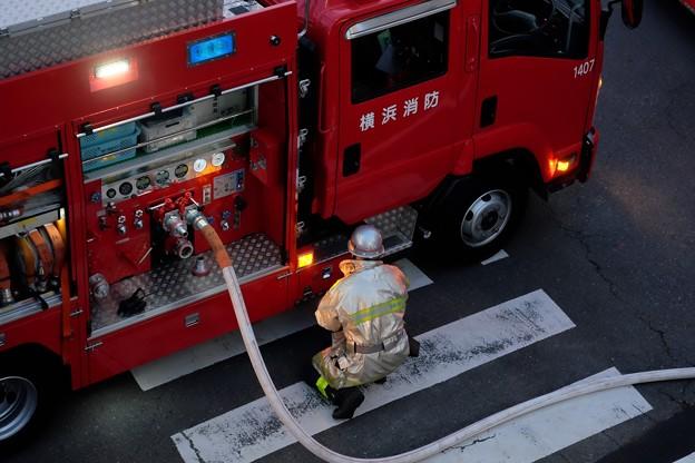 2018.03.29 家の前 火災