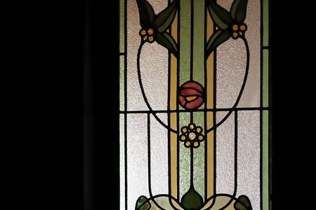 2018.05.11 外交官の家 玄関 ステンドグラス