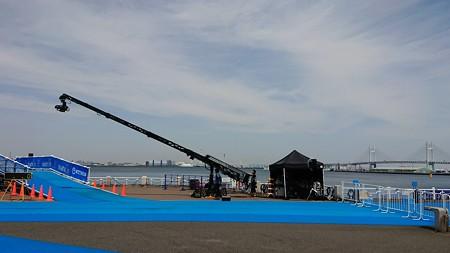 2018.05.11 山下公園 2018世界トライアスロンシリーズ横浜大会 準備 Xperia XZ1