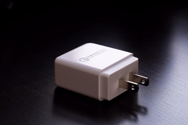 Photos: 2018.05.17 机 Quick Charge 3.0 急速USB充電器