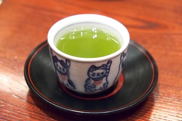 2018.07.21 野田岩 横浜高島屋店 お茶
