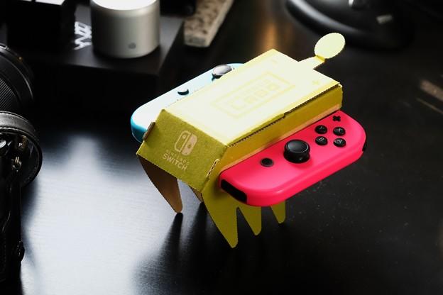 2018.07.30 机 Nintendo Labo リモコンカー