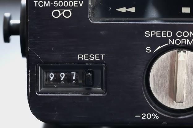 2018.09.03 机 TCM-5000EV カウンター