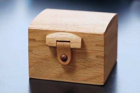 2018.09.27 机 ちいさな木箱