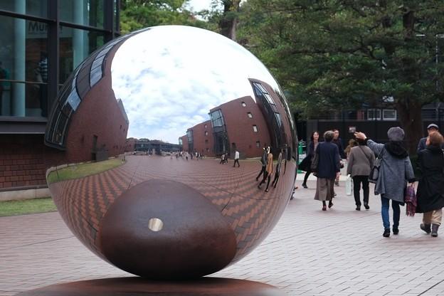 2018.11.07 東京都美術館 my sky hole 85-2 光と影 井上 武吉 1985