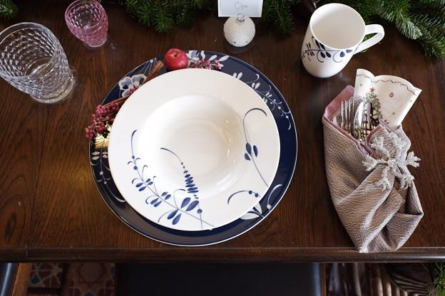 2018.12.05 ベーリック・ホール 世界のクリスマス2018 テーブルセット