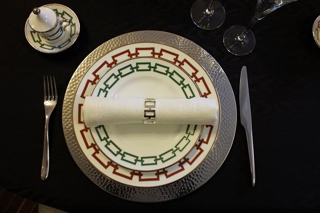 2018.12.05 山手234番館 世界のクリスマス2018 テーブルセット