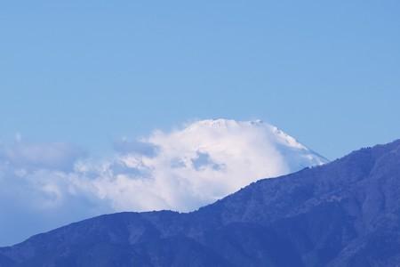 2018.12.30 駅前 富士山