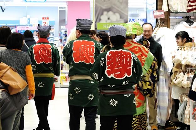 2019.01.02 駅ビル 獅子舞 お正月
