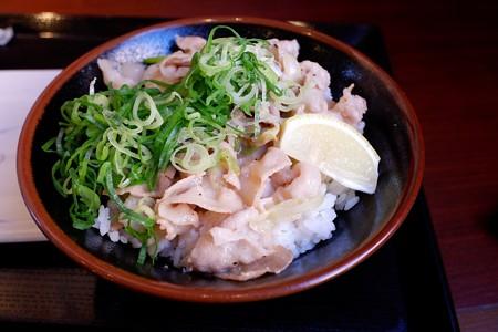 2019.01.07 丸亀製麺 塩だれ豚丼