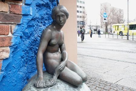 2019.03.01 大桟橋入り口 スカンディア・ガーデン 人魚姫の像