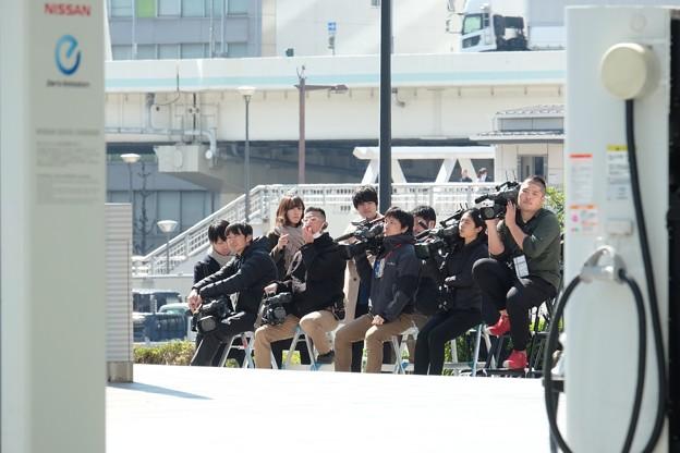 2019.03.12 日産本社 報道陣