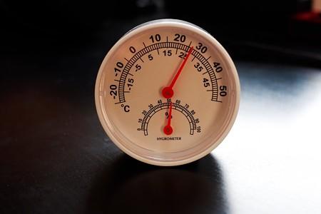 2019.06.01 DAISO 温湿度計