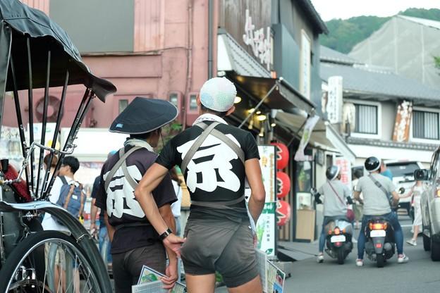 2019.07.31 清水寺 向かう道に「京」