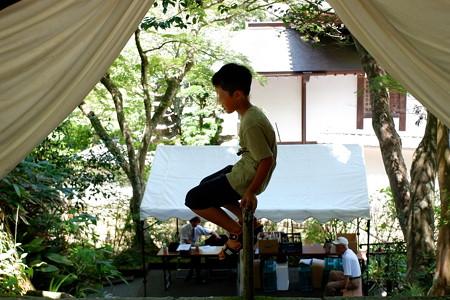 2019.08.05 鎌倉 お施餓鬼 お寺の門