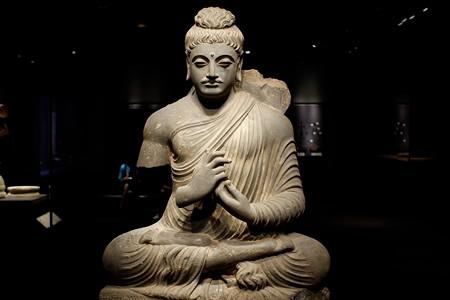 2019.08.20 東京国立博物館 如来坐像 パキスタン TC-734
