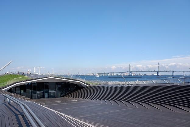 2019.09.19 みなとみらい 大さん橋からベイブリッジ