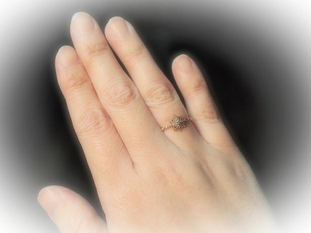 「第131回モノコン」 指につける光り物