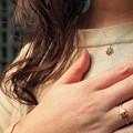 写真: 「第131回モノコン」指輪とおそろのネックレス~