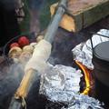 写真: パンを焼く~