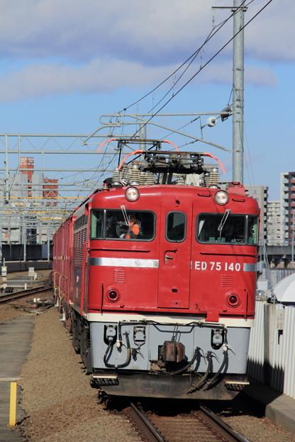 858レ ED75-140