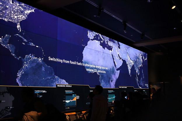 地球観測室!