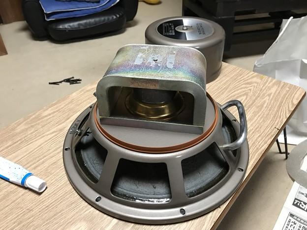 ダイヤトーン R305のウーファー スポンジ交換 8