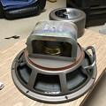 写真: ダイヤトーン R305のウーファー スポンジ交換 8