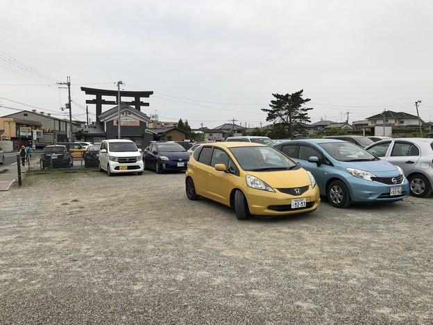 三輪明神 大神神社 駐車場