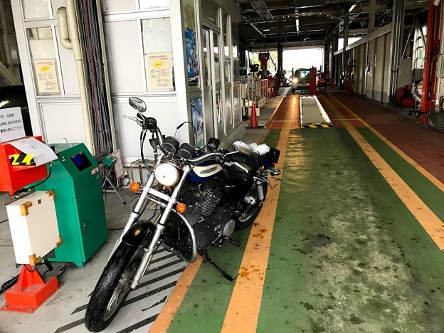 ハーレーXL1200R引取り・車検 3