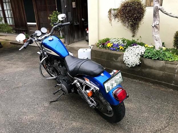 ハーレーXL1200R引取り・車検 5