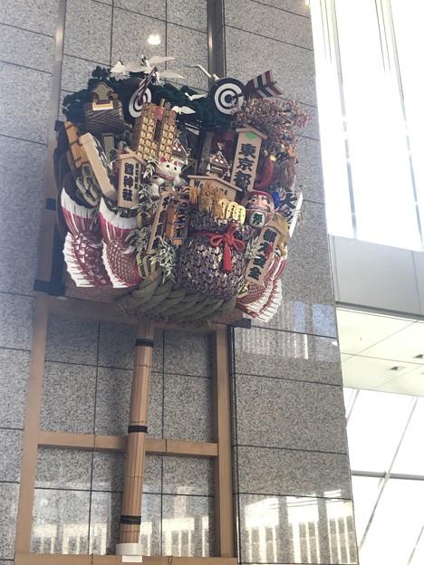 平成最後を飾る☆新宿・都庁にあるお正月飾り