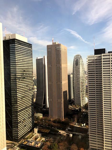 新宿都庁の食堂からみえる景色