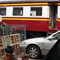 Photos: 塗装更新中の客車 Hua Lamphong、タイ国鉄