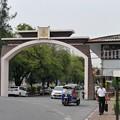 鉄道公社の入口、Hua Lamphong、タイ国鉄
