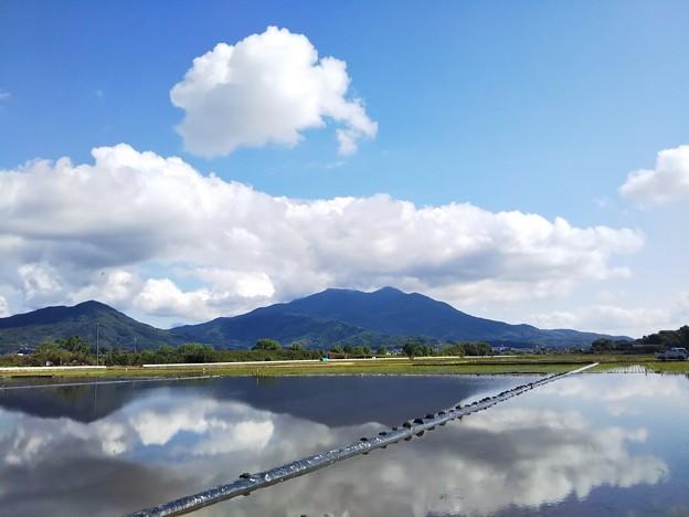 写真: 雨上がりの山里1