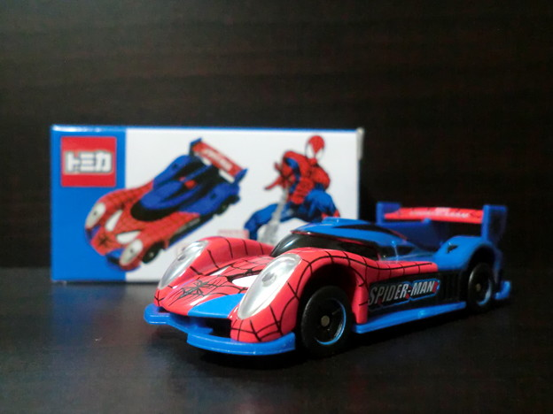 spiderman car