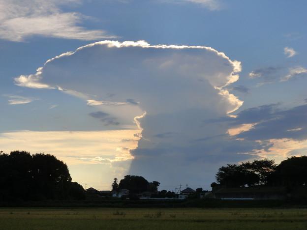怪しい雲1
