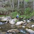Photos: 近くで釣りをしていた弟達
