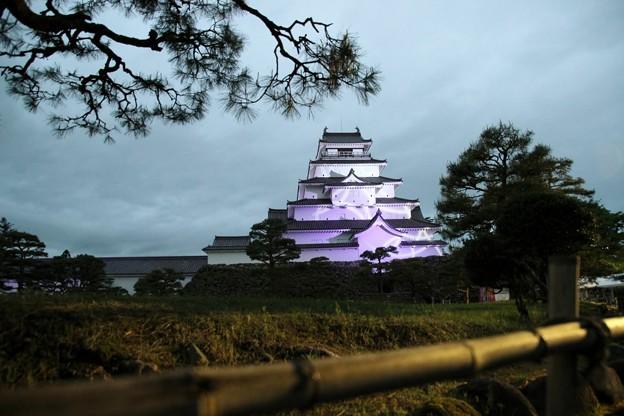 会津 鶴ヶ城ライトアップ