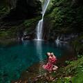 Photos: blue fall