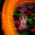 Photos: 踊る光