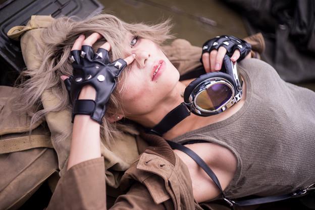 写真: 戦士の休息